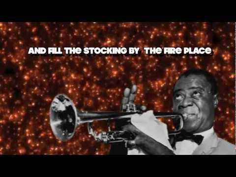 Cool Yule with lyrics sang by Louis Armstrong HD Audio