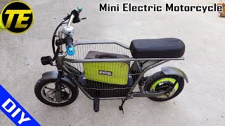 Homemade Mini Electric Motorcycle