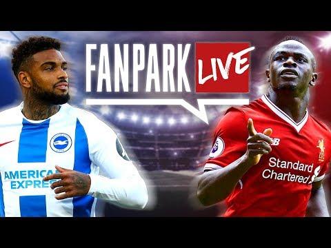 Brighton 0-1 Liverpool Live Fan Stream | English Premier League | FanPark Live #1