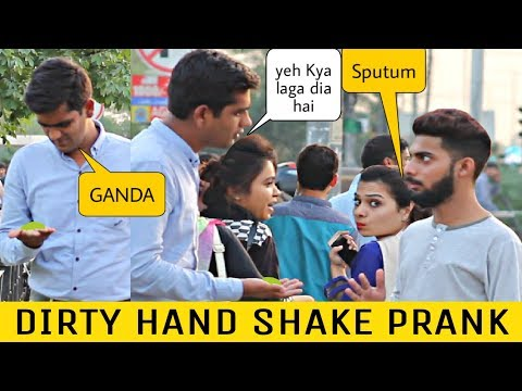 Dirty Handshake Prank | Prank In Pakistan