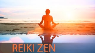 8 Hour Reiki Healing Music: Relaxing Zen Music, Relax Mind Body, Inner Peace, Yoga Music ☯360