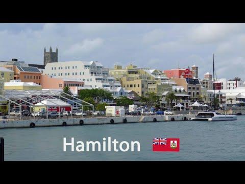 Hamilton - views from the capital of Bermuda 4K
