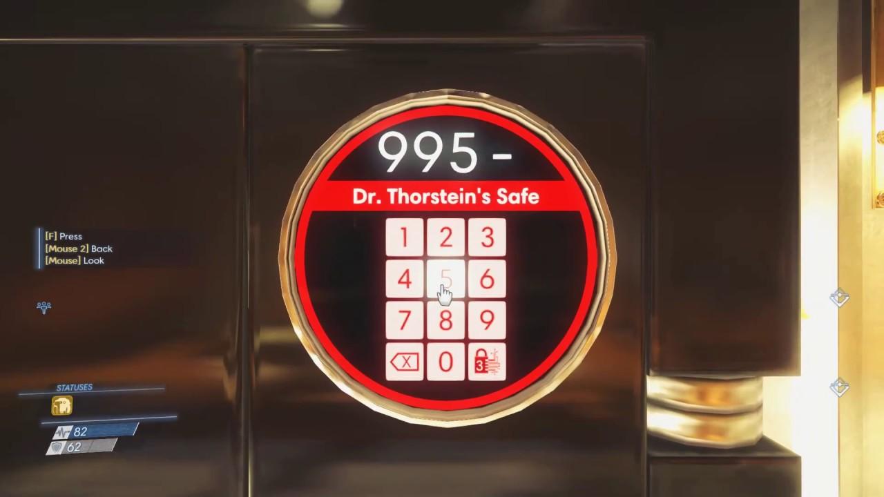 Prey | Director Thorstein\u0027s Office Door Code + Safe Code | Quick guide & Prey | Director Thorstein\u0027s Office Door Code + Safe Code | Quick ...