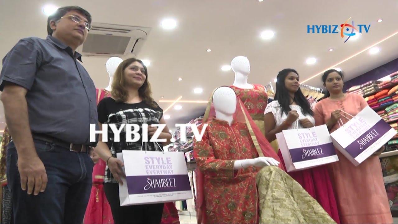 a3eebb9048 Shahbeez Exclusive Women's Store at Abids Hyderabad | hybiz - YouTube