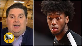 Brian Windhorst can't believe this 'Giannis-level' James Wiseman play: 'Oh my God!' | The Jump