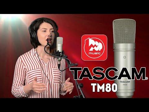 TASCAM TM-80 - дешевый студийный микрофон для записи вокала