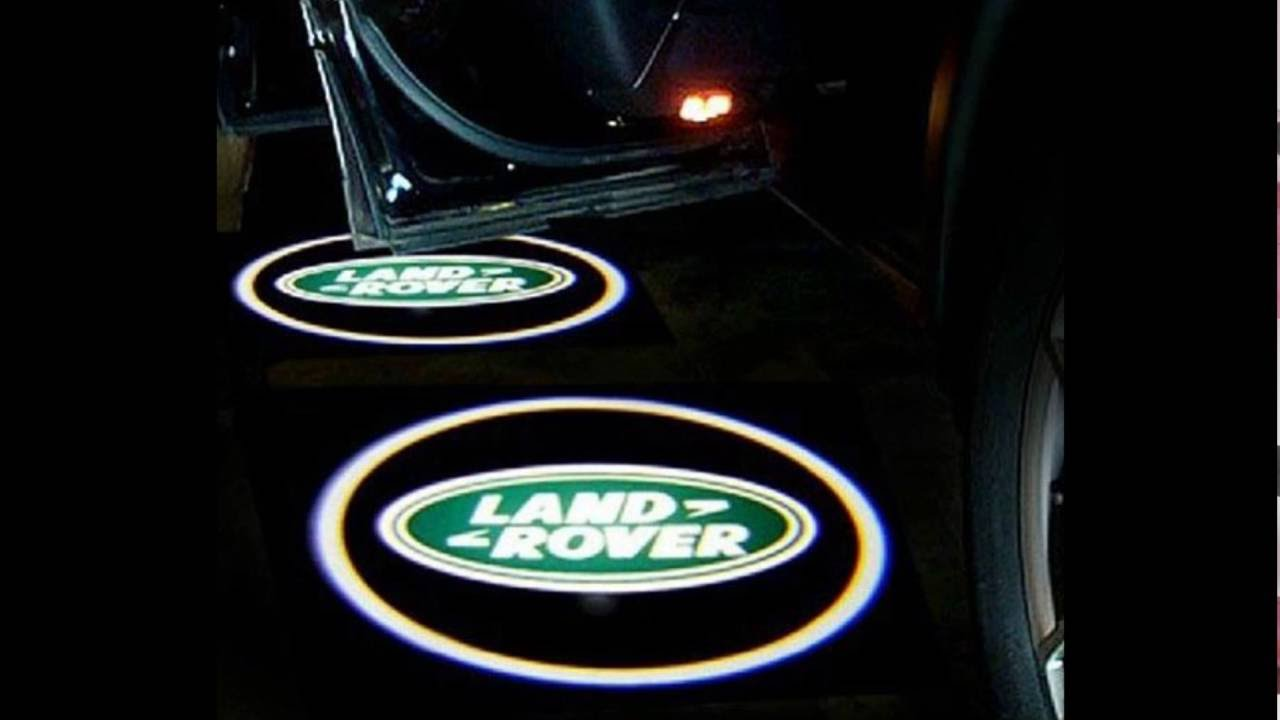 How To Install Land Rover Door Welcome Logo Lights Youtube