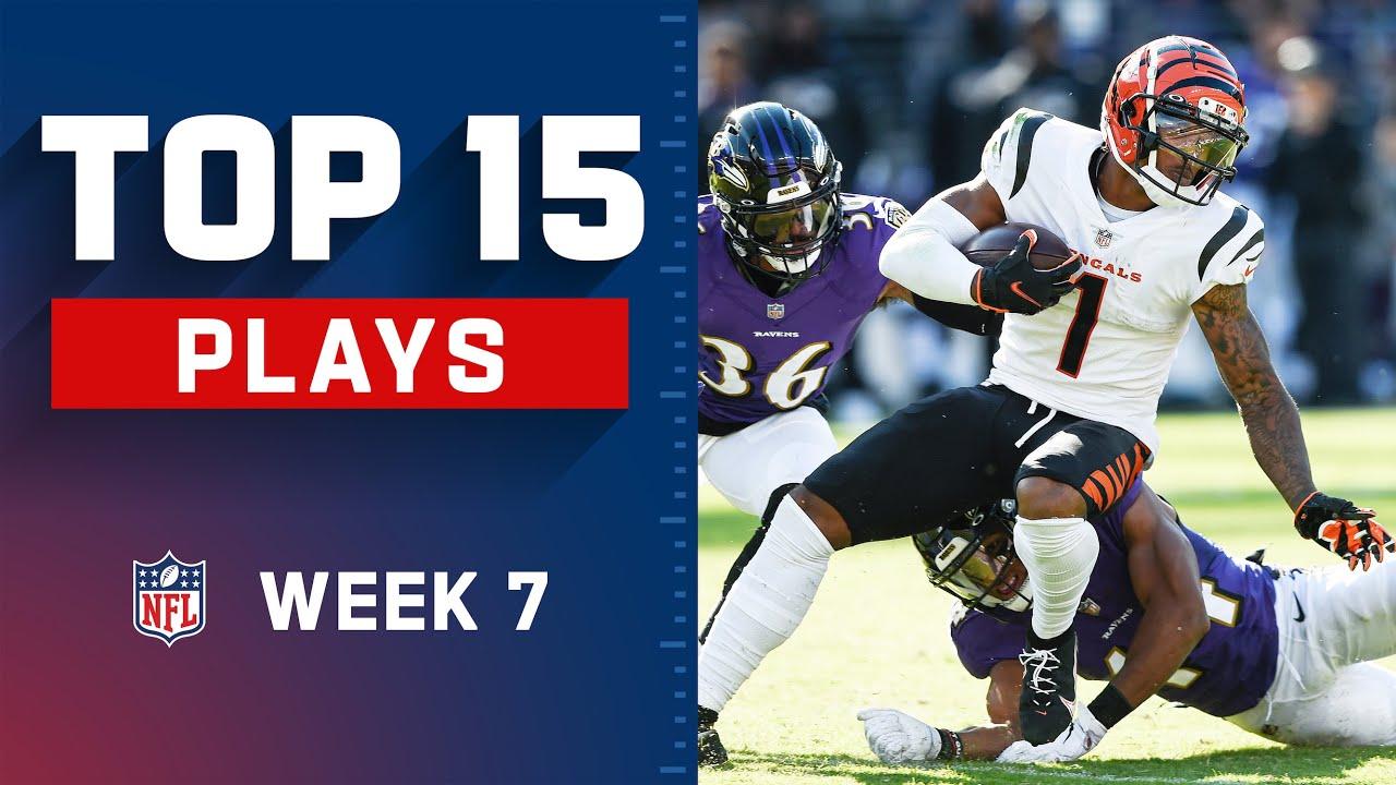 Download Top 15 Plays of Week 7 | NFL 2021 Highlights