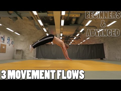 3 ACROBATIC MOVEMENT FLOWS ~ BEGINNERS TO ADVANCED! thumbnail