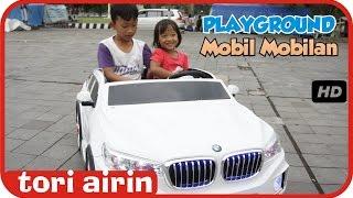 Naik Mobil Mobilan BMW Wahana Permainan Anak - Outdoor Playground Fun for Children Tori Airin