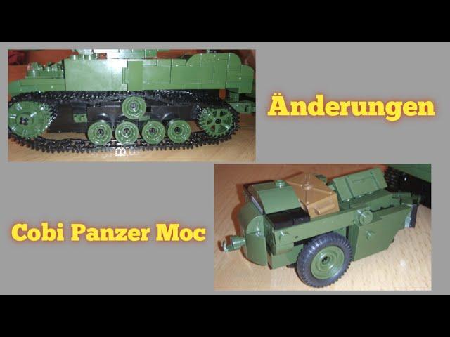 Prototyp: Fex 2, Änderungen und Anhänger   Cobi Panzer Moc [German]