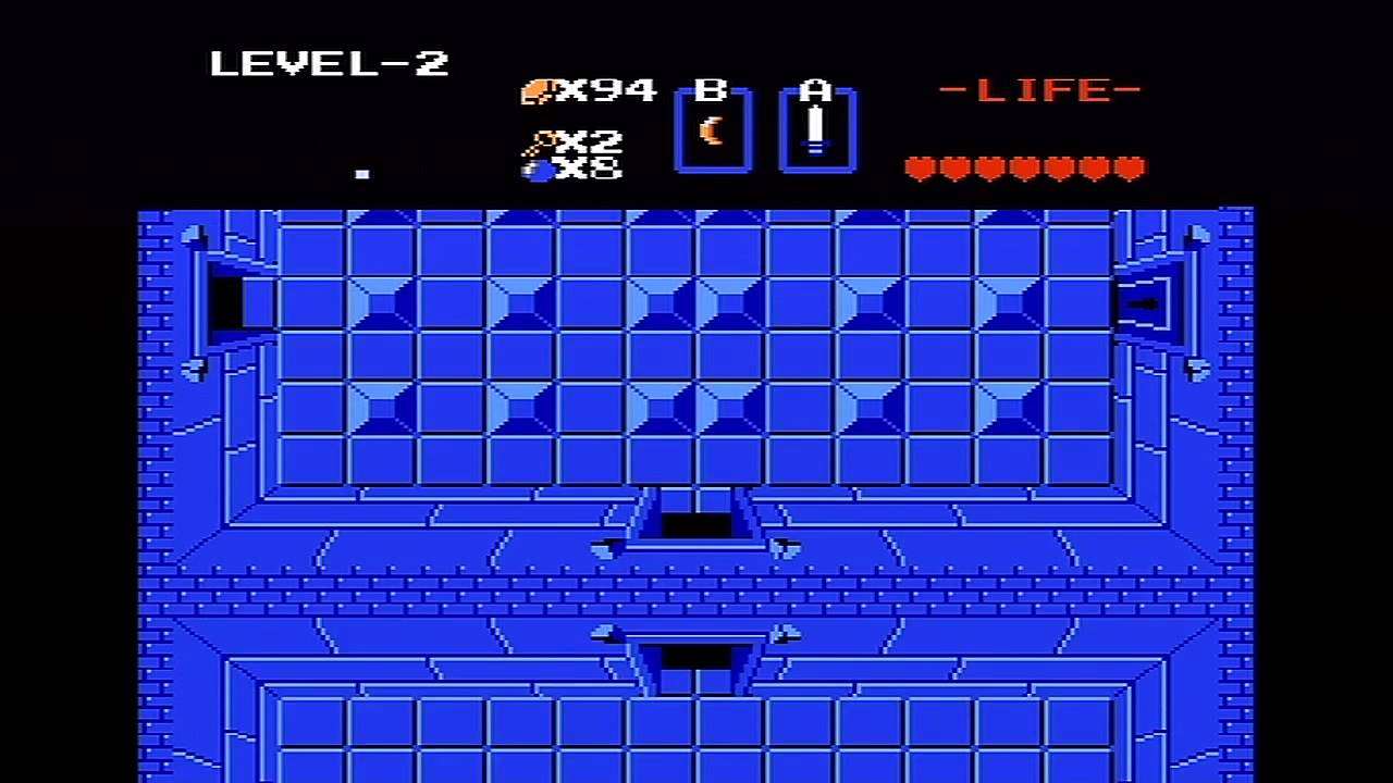 The Legend of Zelda (NES) Walkthrough (Part 3) - Level 2