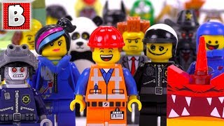 Every LEGO Movie Minifigure EVER MADE!!! | Collection Review