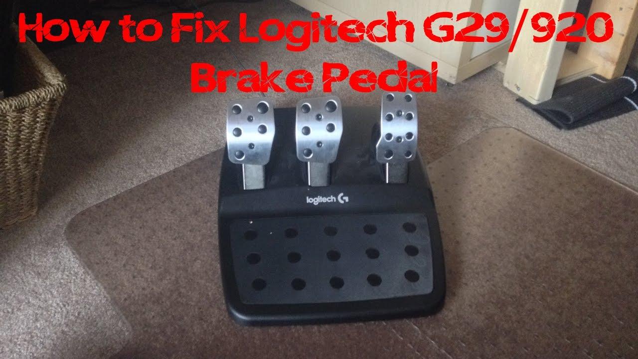 Brake Pedal Sticking On? Logitech G29 Brake Fix [+ Video]