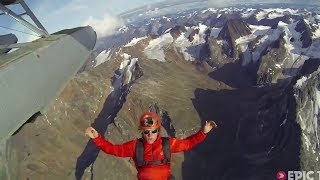 130km Whitewater SUP then Skydive to Canadian Alpine Route   Rock, Air, Water, Ep. 2