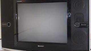 memperbaiki tv sharp mati standby