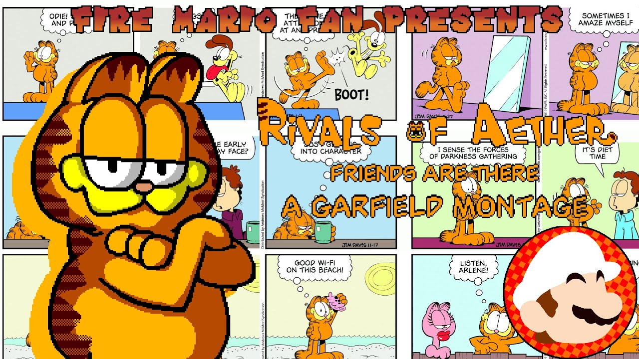 Rivals of Aether - Friends Are Dair .:A Garfield Montage:.
