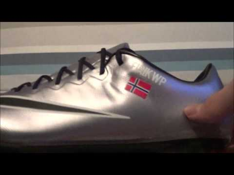 Unboxing of the Nike Mercurial Vapor x // Liquid Chrome