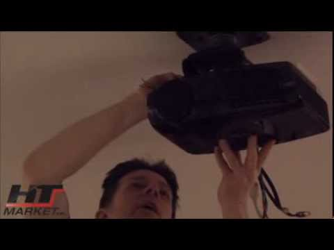 How To Install a Projector on the Ceiling using a ceiling mount by HTmarket.com