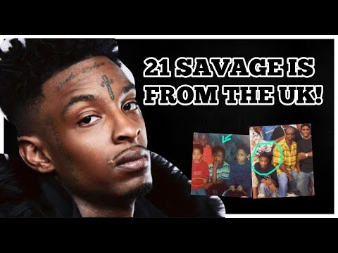 21 SAVAGE IS FROM LONDON!?