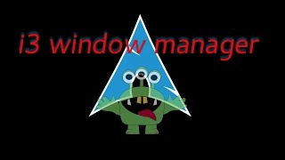 i3 window manager arch linux