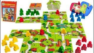 Carcassonne Junior:cómo se juega