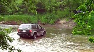 Bootleggers Hollow river crossing