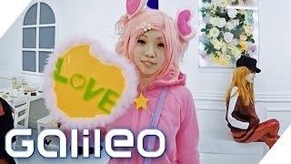 Die Anime-Convention in Japan | Galileo | ProSieben