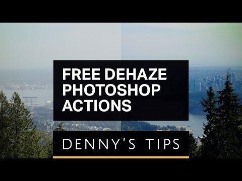 Free Ultimate Dehaze Photoshop Actions