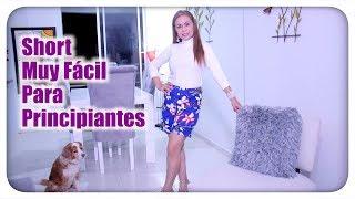 7b27c3e90 Omaira tv- DIY Short Muy Fácil Para Principiantes- Shorts Very easy For  Beginners