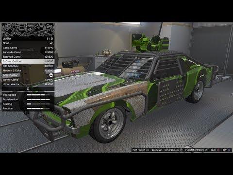GTA 5 Gunrunning DLC Vehicle Customization (Weaponized Tampa)