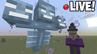 LIVE! - Minecraft Xbox - TITLE UPDATE! 19 GAMEPLAY! WITHER, HORSES + MORE!