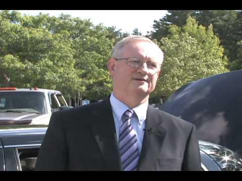 Duncan Gillies - chauffer for Worcester Airport Limousine - Part 1