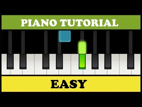 10 Very Easy Songs to Play on the Piano (Synthesia)