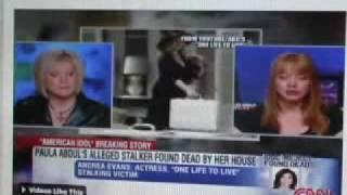 STALKER DEAD AT ABDUL HOME CNN UPDATE