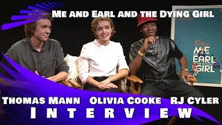 Me and Earl and the Dying Girl Interview: Olivia Cooke, Thomas Mann & RJ Cyler - 2015