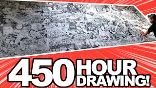 I QUIT MY JOB to draw STAR WARS for 450 HOURS! (for real...)