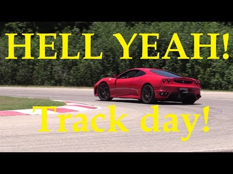 Ferrari F430 on the Track with Incredible sounds!