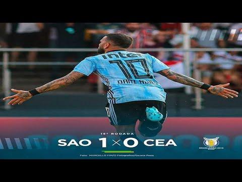 DECIDIU! SÃO PAULO 1 x 0 CEARÁ - Gols e Melhores Momentos | COMPLETO | Brasileirão 2019