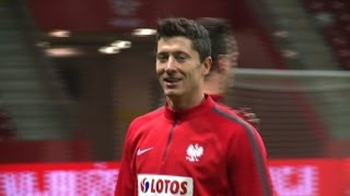 Poland's Lewandowski idolised by next generation of footballers