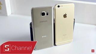 Schannel - So sánh toàn diện iPhone 6S Plus vs Galaxy Note 5: Phablet tốt nhất năm là...?