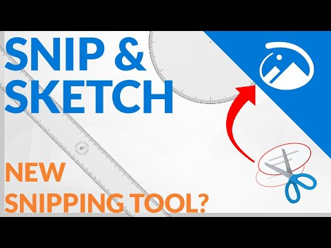 Snip & Sketch: A Snipping Tool Replacement?