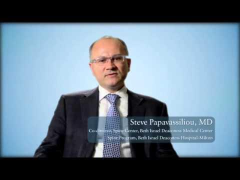 Meet Efstathios Papavassiliou, MD, Of BID-Milton's Spine Program