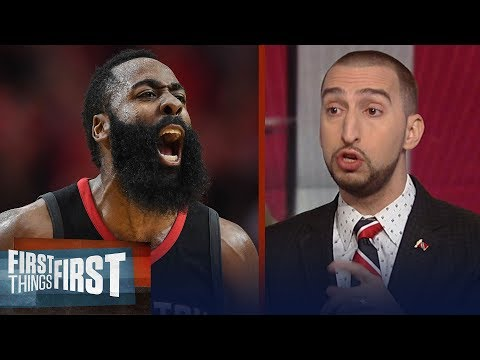 Nick Wright talks James Harden's Rockets, Dwight Howard's epic 30/30 night | FIRST THINGS FIRST