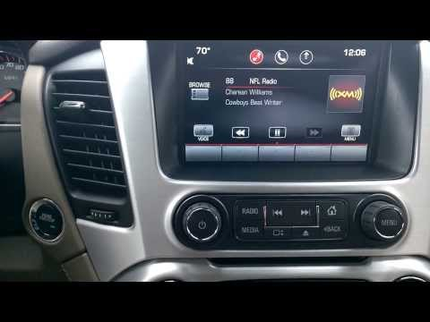 2015 GMC Yukon Interior Radio