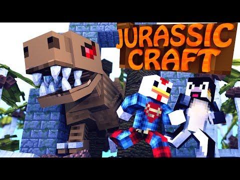 "Minecraft | Jurassic Craft - Dinosaurs Ep 1 ""SAVING JURASSIC PARK"""