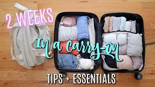 14 Days in Europe in a Carry-On! How I Packed +  Travel Essentials!