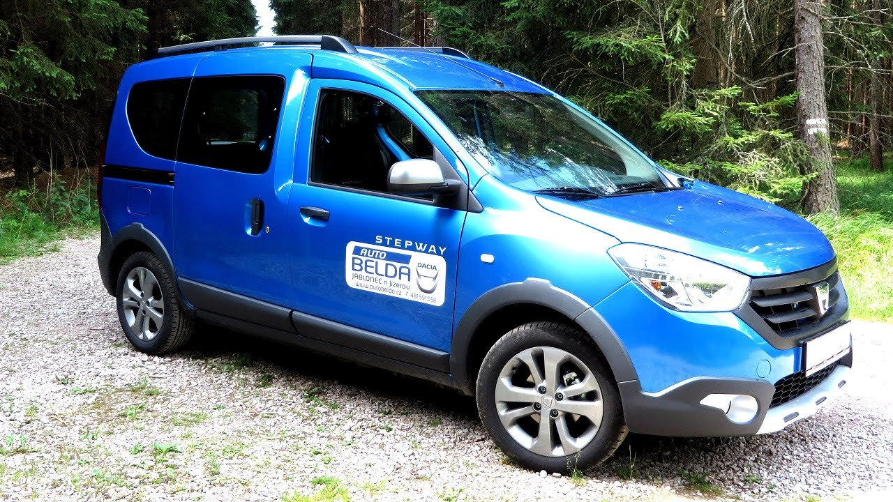test dacia dokker stepway 1 5 dci youtube. Black Bedroom Furniture Sets. Home Design Ideas
