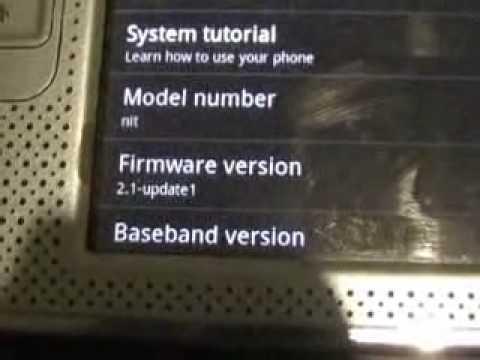 NITDroid N800 ANDROID ECLAIR 2.1R1