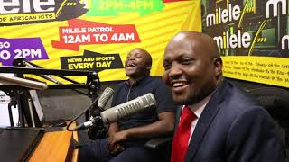 Gatundu South MP Hon. Moses Kuria in Studio Part 1